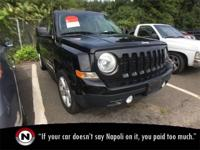 Black Clearcoat 2014 Jeep Patriot Latitude 4WD