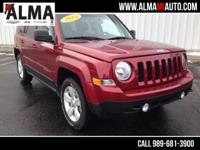 Options:  2014 Jeep Patriot Latitude|Red|1 Owner|Local