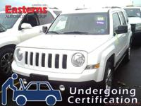 Options:  2014 Jeep Patriot Latitude|White|2014 Jeep