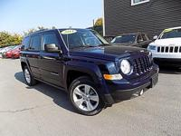 Come see this 2014 Jeep Patriot Latitude. Its Automatic