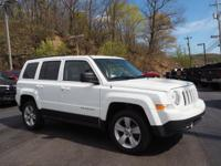 Recent Arrival! 2014 Jeep Patriot Latitude 4WD, Cloth,