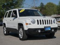 2014 Jeep Patriot Latitude White CARFAX One-Owner.