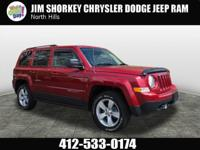 2014 Jeep Patriot Latitude CARFAX One-Owner. 4WD,