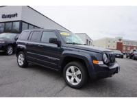 Get ready to go for a ride in this 2014 Jeep Patriot