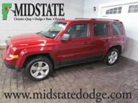 2014 Jeep Patriot Latitude Deep Cherry Red Crystal