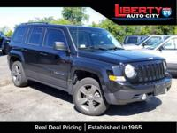 Black Clearcoat 2014 Jeep Patriot High Altitude FWD