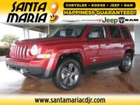Options:  2014 Jeep Patriot Latitude Fwd|One Owner And