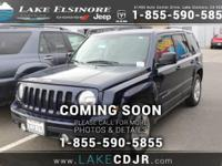 This 2014 Jeep Patriot Latitude is proudly offered by