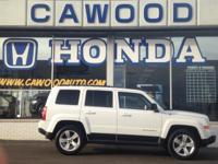 Options:  2014 Jeep Patriot Latitude|White|4.12 Axle