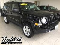 Recent Arrival! 2014 Jeep Patriot in Black, AUX