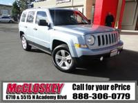 This rugged 2014 Jeep Patriot Sport if ready to take