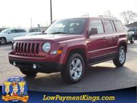 CARFAX One-Owner. Red 2014 Jeep Patriot Sport 4WD