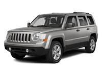 Come see this 2014 Jeep Patriot Sport. Its transmission