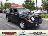 JUST ARRIVED! 2014 Jeep Patriot Sport!**LOCAL, ONE
