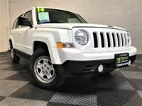 Meet our 2014 Jeep Patriot Sport FWD shown in a