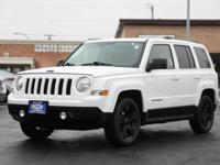 CARFAX One-Owner. Bright White Clearcoat 2014 Jeep