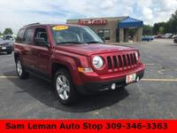 2014 Jeep Patriot Sport in Cherry Red vehicle