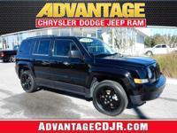 This Black 2014 Jeep Patriot Altitude has LOW MILES!!