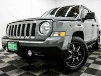I'm a 2014 Jeep Patriot! All of our vehicles have