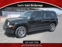 Options:  2014 Jeep Patriot Awesome Driver With Only