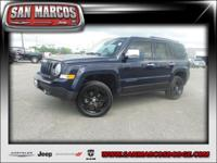 Options:  2014 Jeep Patriot Sport|True Blue Pearl/|V4