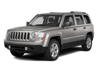 Jeep Patriot Sport 2014 CARFAX One-Owner. Power