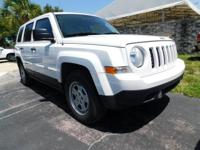Recent Arrival! 2014 Jeep Patriot Bright White