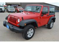 Jeep Certified, ONLY 890 Miles! 3.73 REAR AXLE RATIO,