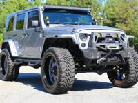 2014 Jeep Wrangler Unlimited Rubicon  Truly ONE OF A