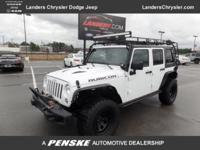 LOW MILES - 54,011! Rubicon X trim. Alloy Wheels,