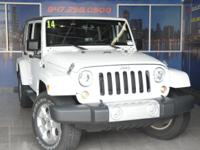 2014 Jeep Wrangler Unlimited Sahara Bright White