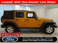 Recent Arrival***2014 Jeep Wrangler Unlimited Sport