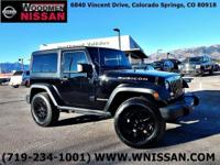 Just Arrivedl! Hard To Find Rubicon 2-Door!  2-Tone