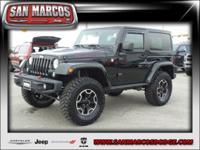 Options:  2014 Jeep Wrangler Rubicon|Black