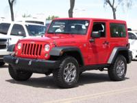 New Price! Clean CARFAX. 2014 Jeep Wrangler Rubicon 4WD