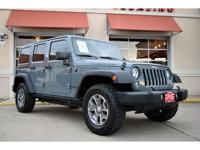 1-Owner, 2014 Jeep Wrangler Unlimited Rubicon 4x4. This
