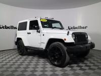 Wrangler Sahara, Both Hard and Soft Tops Included,
