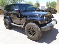 Recent Arrival! Clean CARFAX. Black 2014 Jeep Wrangler