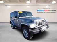 New Price! Clean CARFAX. 2014 Jeep Wrangler Sahara 4WD