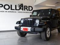 Clean CARFAX. Wrangler Unlimited Sahara 2014 Jeep