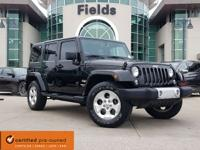CARFAX One-Owner. Clean CARFAX. Black 2014 Jeep