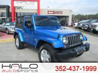 2014 JEEP WRANGLER SPECIAL EDITION WITH ELECTRIC BLUE
