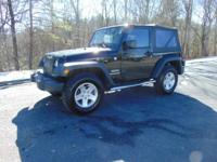 Our One Owner 2014 Jeep Wrangler Sport 4x4 is ready to