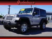 2014 Jeep Wrangler and Sport with Hard Top. 4 Wheel