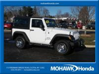 ONE OWNER and CLEAN AUTOCHECK. Wrangler Sport, 2D Sport