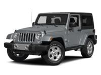 Wrangler Sport and 5-Speed Automatic. Your off-road