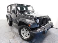 Recent Arrival! New Price! Wrangler Sport Black