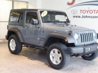 New Price! 2014 Blue Pearl Jeep Wrangler LOOK INTO