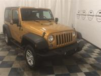 New Price! Ampd 2014 Jeep Wrangler Sport 4WD 6-Speed