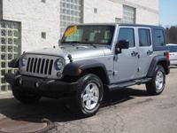 This 2014 Jeep Wrangler Unlimited Sport is a great